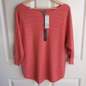 NWT Market & Spruce Reviera Sweater Size Medium